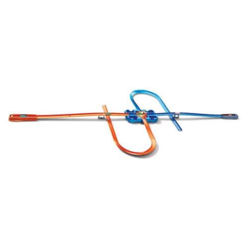 Mattel Hot Wheels® Track Builder Deluxe Stunt Box Track Set Perspective: top