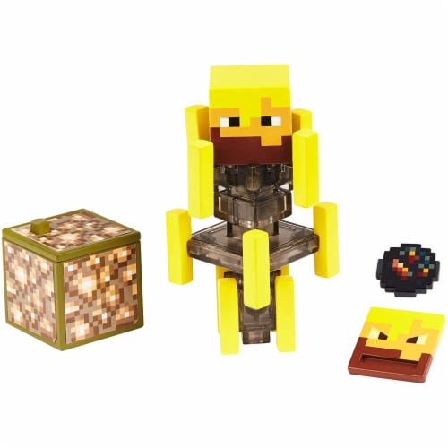 Minecraft Blaze Figure Perspective: top