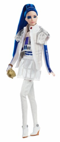 Mattel Barbie® R2D2 Collector Doll Perspective: top