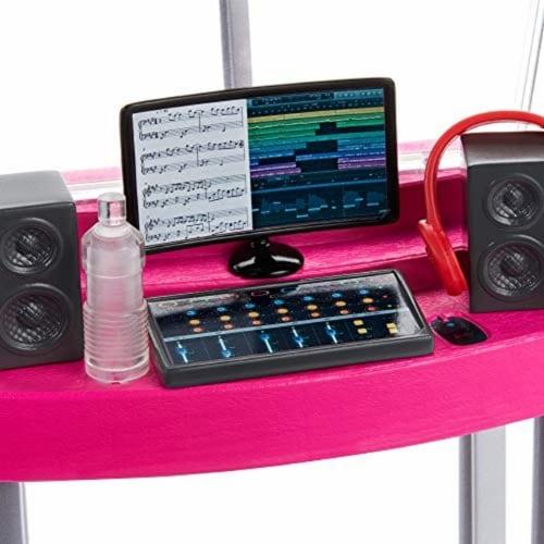 Mattel Barbie® Career Places Musician Recording Studio Playset Perspective: top