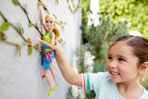 Mattel Barbie® Sport Climber Doll Set Perspective: top
