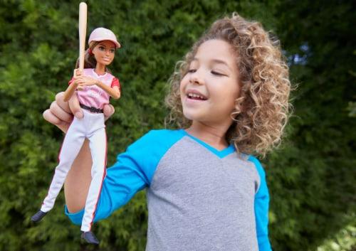Mattel Barbie® Softball Doll Perspective: top