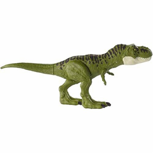 Jurassic World Fallen Kingdom Tyrannosaurus Rex Action Figure - Green Perspective: top