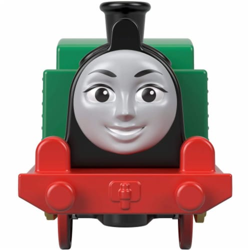 Thomas & Friends Fisher-Price Trackmaster Gina Motorized Toy Train Engine Perspective: top