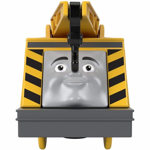 Thomas & Friends Fisher-Price Trackmaster Kevin Motorized Toy Train Engine Perspective: top