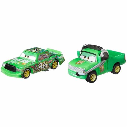 Disney Pixar Cars Chick Hicks Chief DINOCO 400 Vehicles Perspective: top