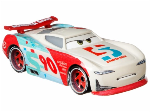 Disney Pixar Cars Jackson Storm & Paul Conrev Toy Racers Perspective: top