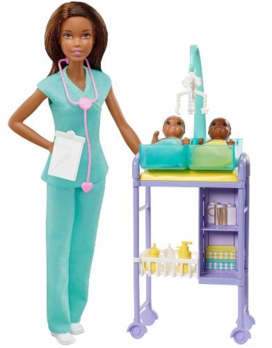 Mattel Barbie® Baby Doctor Playset Perspective: top