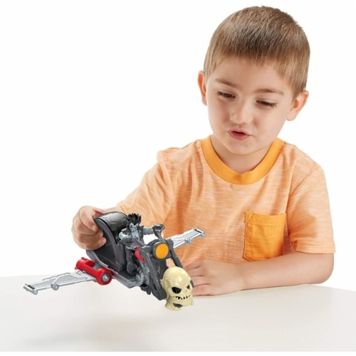 Fisher-Price Imaginext DC Super Friends Lobo & Motorcycle Perspective: top