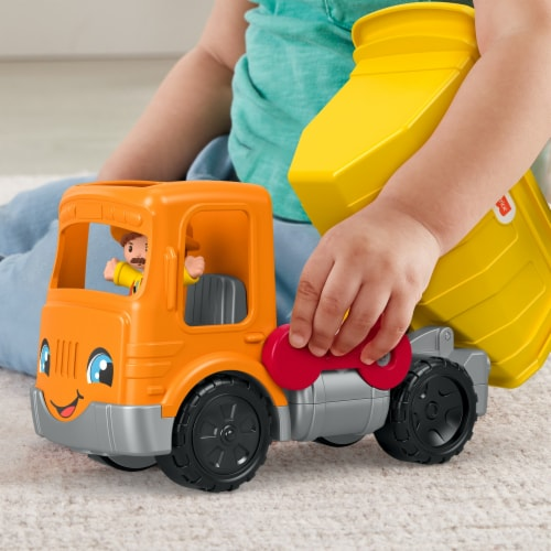 Fisher-Price® Little People Work Together Dump Truck Perspective: top
