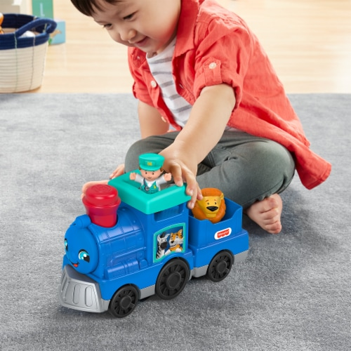 Fisher Price Little People Animal Train Set Perspective: top