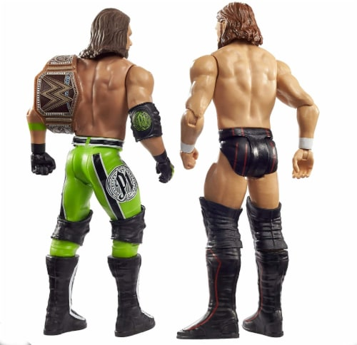 WWE Daniel Bryan vs AJ Styles Battle Pack 2-Pack Perspective: top