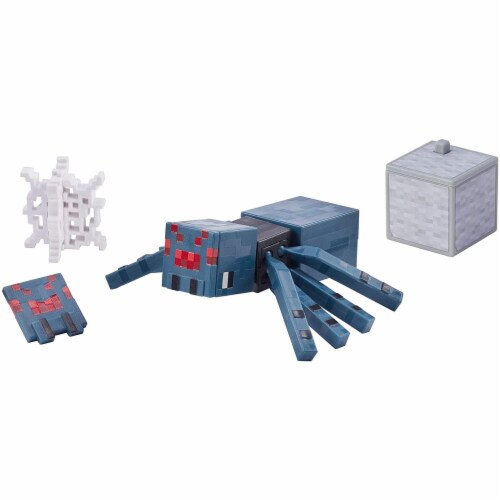 Minecraft Earth Cave Spider Figure Perspective: top
