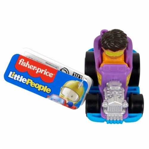Fisher-Price® Little People Wheelies Hot Rod Vehicle Perspective: top