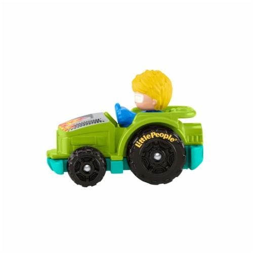 Fisher-Price® Little People Wheelies Racing Tractor Vehicle Perspective: top