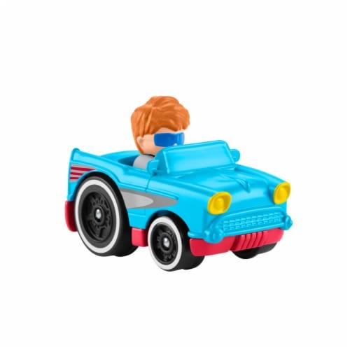 Fisher-Price® Little People Wheelies Retro Convertible Vehicle Perspective: top