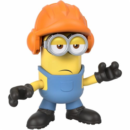 Fisher Price Despicable Me Minions: Rise of Gru Imaginext Kevin with Hard Hat Mini Figure Perspective: top