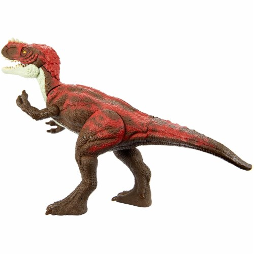 Jurassic World Attack Pack Alioramus Figure Perspective: top