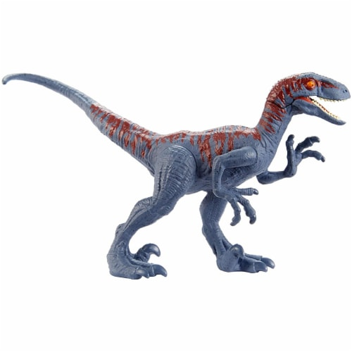 Jurassic World Attack Pack Velociraptor Figure Perspective: top