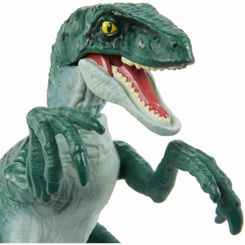 Jurassic World Attack Velociraptor Delta Figure Perspective: top