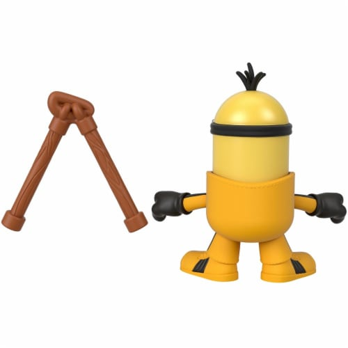 Fisher Price Despicable Me Minions: Rise of Gru Imaginext Kevin with Nunchucks Mini Figure Perspective: top