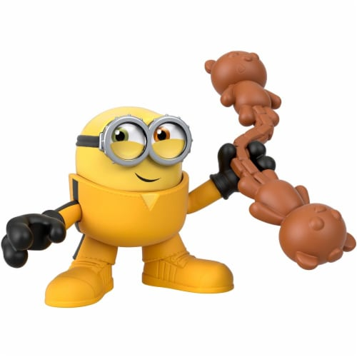 Fisher Price Despicable Me Minions: Rise of Gru Imaginext Bob with Nunchucks Mini Figure Perspective: top