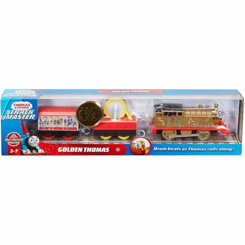 Thomas and Friends Golden Thomas Motorized Train Perspective: top