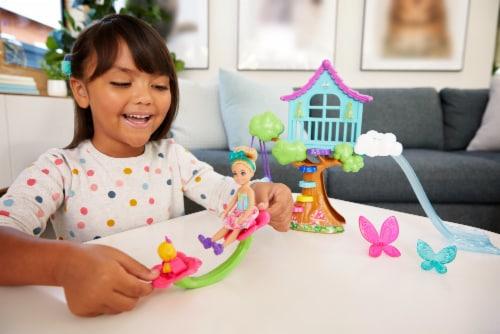 Mattel Barbie® Dreamtopia Chelsea Treehouse Playset Perspective: top