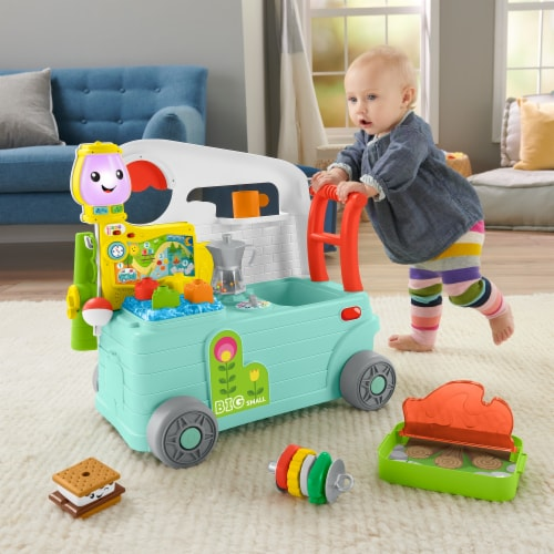Fisher-Price® Laugh & Learn 3-in-1 On the Go Camper Perspective: top
