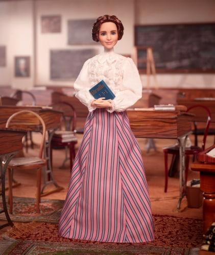 Mattel Barbie® Inspiring Women Helen Keller Doll Perspective: top