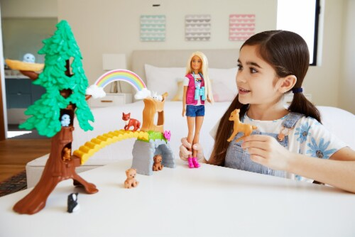 Barbie Wilderness Guide Interactive Play Set Perspective: top