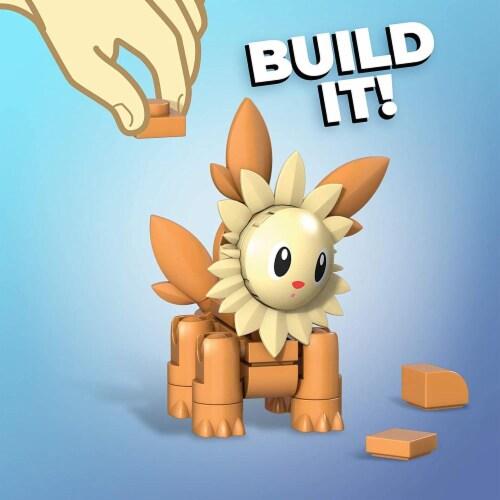 Mega Construx Pokemon Lillipup Construction Set, Building Toys for Kids Perspective: top