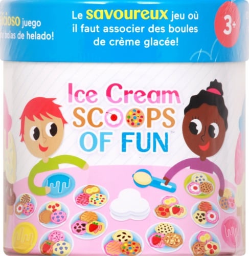 Fisher-Price® Ice Cream Scoops of Fun Game Perspective: top