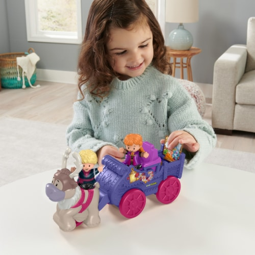Fisher-Price® Little People Disney Frozen Anna and Kristoff Wagon Perspective: top