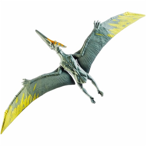 Jurassic World Action Pteranodon Figure, 12-inch Perspective: top