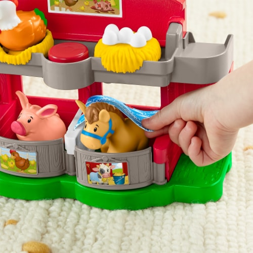 Fisher-Price® Little People Caring for Animals Farm set Perspective: top