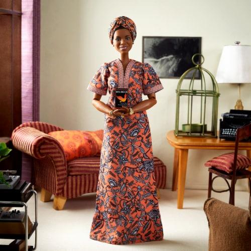Mattel Barbie® Maya Angelou Inspiring Women Doll Perspective: top