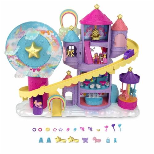 Mattel Polly Pocket Fantasy Unicornland Perspective: top