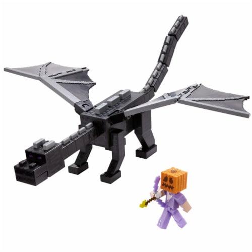 Mattel Minecraft Ultimate Ender Dragon Set Perspective: top