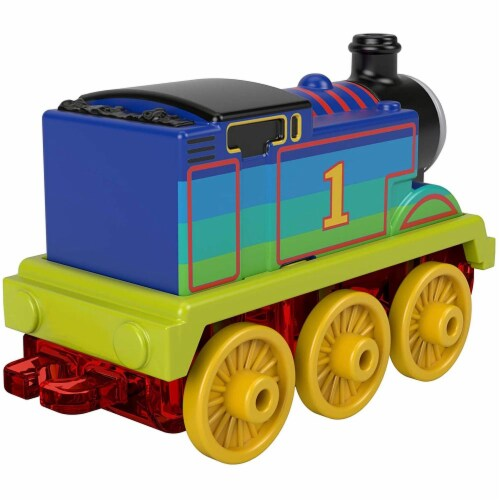 Thomas & Friends Metal Engine: Thomas Multicolor Engine Perspective: top