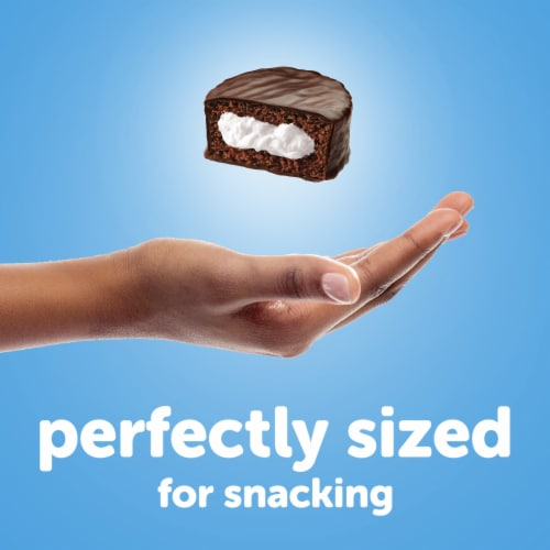 Hostess Chocolate Ding Dongs Chocolate Cakes Perspective: top