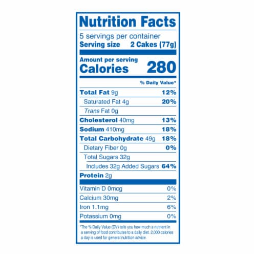 Hostess Red White & Blue Twinkies Perspective: top