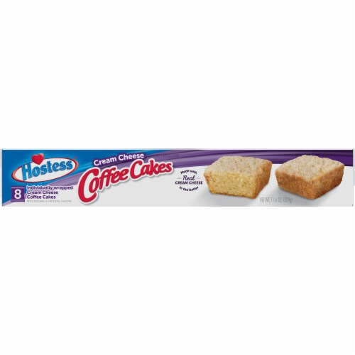 Hostess Cream Cheese Coffee Cakes Perspective: top