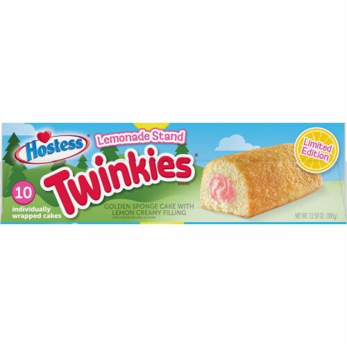 Hostess Lemonade Stand Twinkies Perspective: top