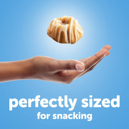 Hostess Cinnamon Swirl Baby Bundt Cakes Perspective: top