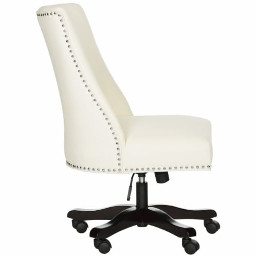 Scarlet Desk Chair Creme Perspective: top