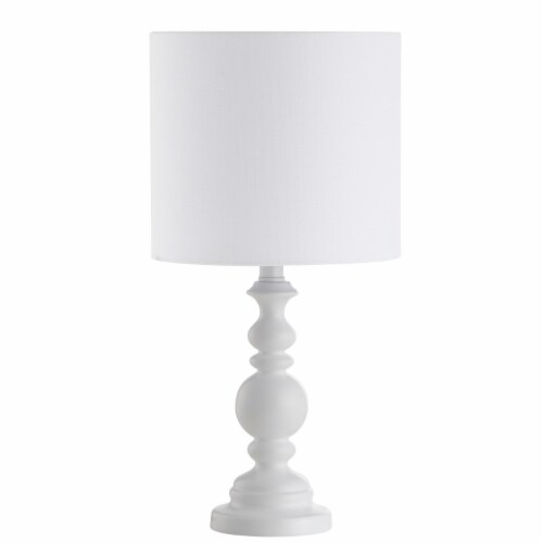 Harrington Table Lamp White Perspective: top