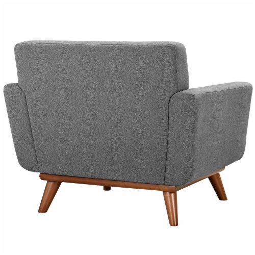 Engage Armchair Wood Set of 2 - Expectation Gray Perspective: top