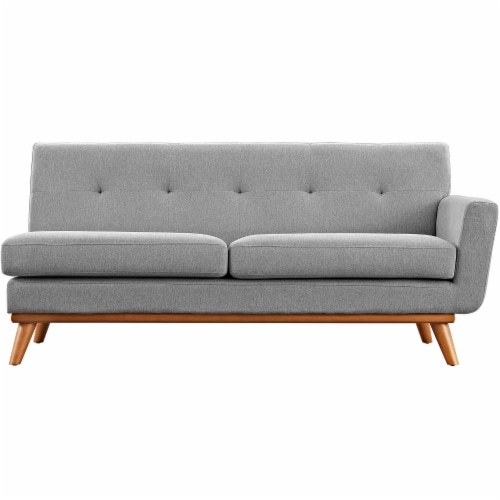 Engage Right-Arm Upholstered Loveseat Perspective: top