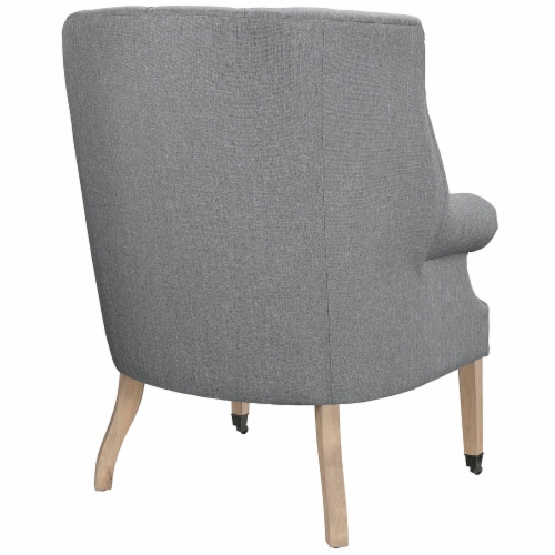 Chart Upholstered Fabric Lounge Chair Perspective: top